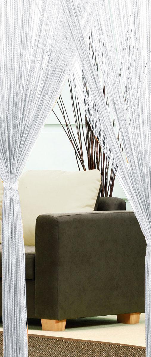 Гардина-лапша Haft, на кулиске, цвет: белый, высота 250 см. 4699010503Легкая гардина-лапша на кулиске Haft, изготовленная из полиэстера, станетвеликолепным украшением любого окна. Оригинальный дизайн и приятнаяцветовая гамма привлекут к себе внимание и органично впишутся в интерьеркомнаты.К изделию прилагается удобный мешок для стирки на стяжке.
