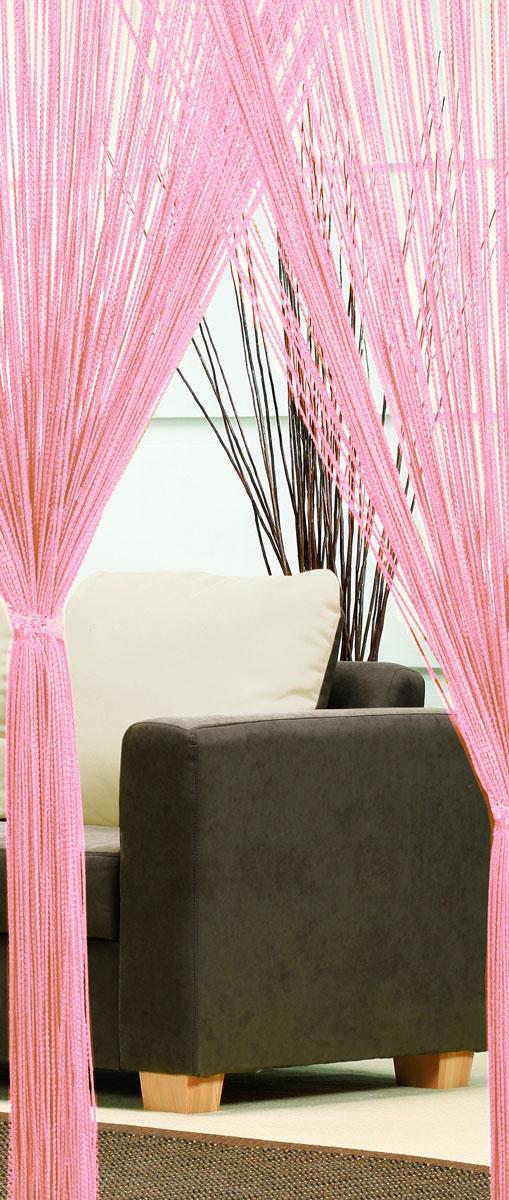 Гардина-лапша Haft, на кулиске, цвет: светло-розовый, высота 250 см. 46990/25046990/250 лососьЛегкая гардина-лапша на кулиске Haft, изготовленная из полиэстера, станет великолепным украшением любого окна. Оригинальный дизайн и приятная цветовая гамма привлекут к себе внимание и органично впишутся в интерьер комнаты. К изделию прилагается удобный мешок для стирки на стяжке.