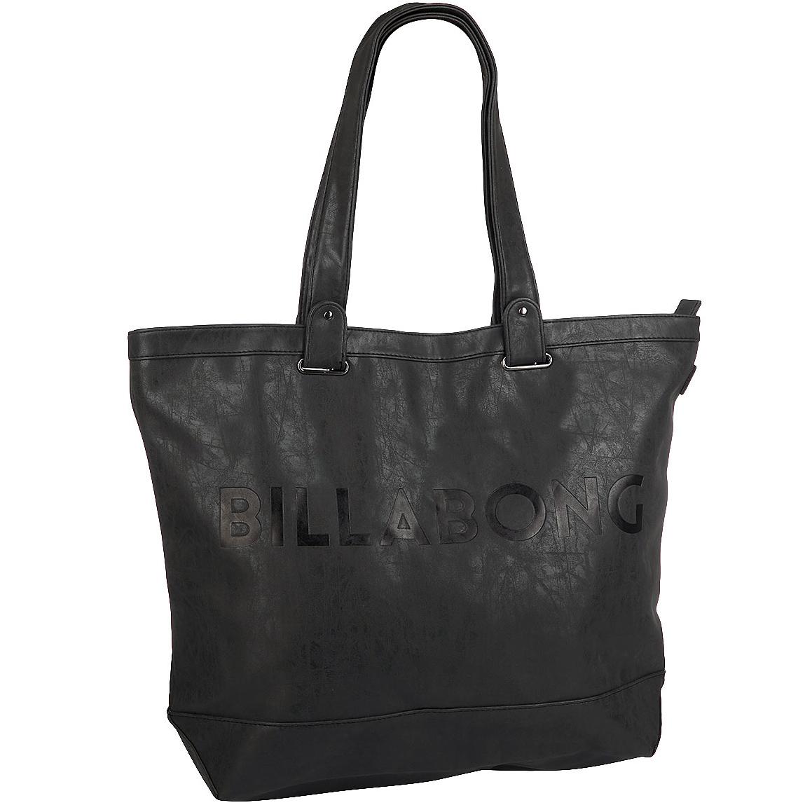 Сумка женская Billabong Essential Plus, цвет: черный, 25 л. Z9BG13Z9BG13Вместительная сумка с простой внутренней организацией. Лаконичный крой, дополненный внутренним карманом на молнии, который позволит быстро находить необходимые мелочи, позволит вместить множество вещей.