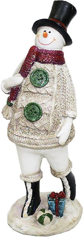 Фигурка декоративная Family & Friends Снеговик. 10001571000157