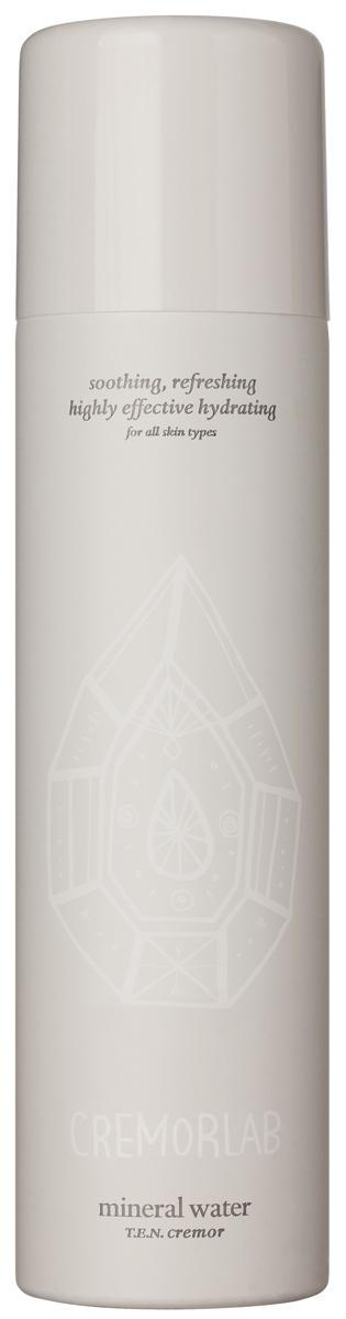 Cremorlab T.E.N. Cremor Mineral Water / Термальная вода, 120 мл61232Спрей на основе уникальной термальной воды из источника Гымчин (Корея) эффективно успокаивает, уменьшает покраснения и раздражения, а также глубоко увлажняет кожу. Оказывает выраженное регенерирующее действие, существенно улучшает состояние чувствительной кожи и способствует восстанавлению водного баланса. Вода обогащена экстрактами Алое вера, зеленого чая, плодов шиповника , центеллы азиатской, цветков орхидеи, гаммамелиса и соевых бобов, которые дополняют и усиливают действие средства в области увлажнения, восстановления и питания кожи. Подходит для всех типов и состояний кожи.