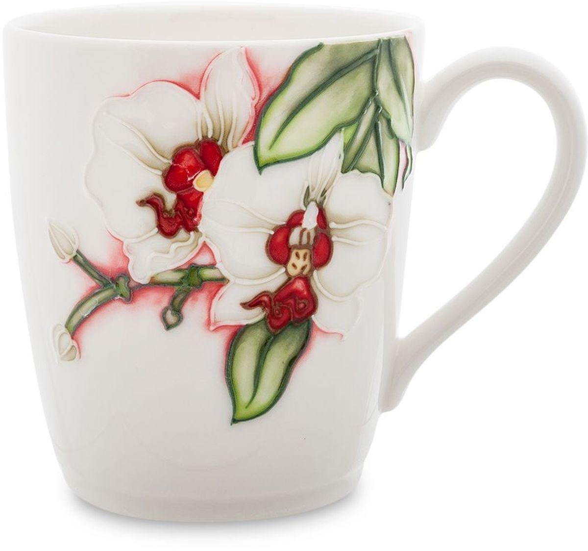 Кружка Pavone Королевская орхидея, 300 мл. 451611451611Высота: 9 см
