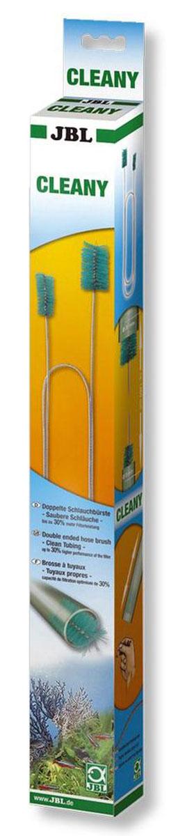 Двойной ершик JBL Cleany, для чистки шлангов диаметром от 9 до 30 ммJBL6136100JBL Cleany - Двойной ершик для чистки шлангов диаметром от 9 до 30 мм.