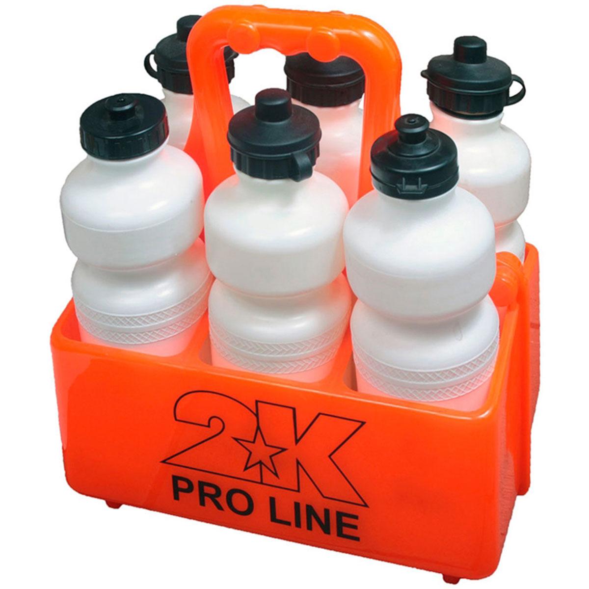 Лоток для бутылок 2K Sport, цвет: оранжевый126309Спортивный лоток 2K Sport применяется для переноса бутылок. Имеет 6 ячеек. Выполнено изделие из прочного пластика. Лоток оснащен ручкой для переноски. Бутылки в комплект не входят.