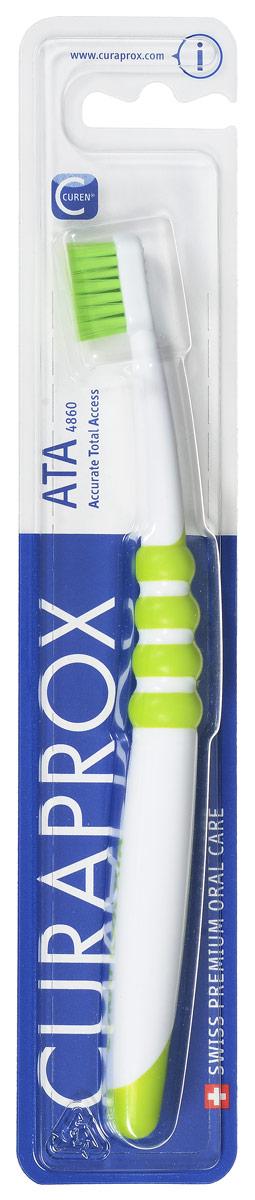 Curaprox ATA Зубная щетка подростковая цвет: зеленыйATA_зеленый