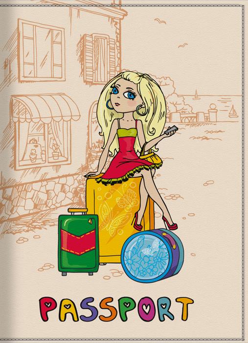 Обложка для паспорта женская КвикДекор Отпуск, цвет: слоновая кость. DC-15-0001-1DC-15-0001-1Оригинальная, яркая и качественная обложка для паспорта КвикДекор Отпуск изготовлена из качественной экокожи. Подходит для всех видов паспортов, как общегражданских, так и заграничных. Изображение устойчиво к стиранию. Изделие раскладывается пополам. Яркий современный дизайн, который является основной фишкой данной модели, будет радовать глаз.