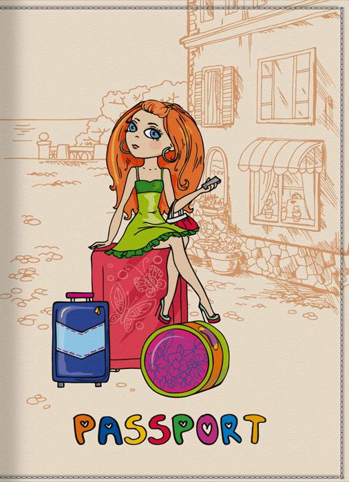 Обложка для паспорта женская КвикДекор Отпуск, цвет: слоновая кость. DC-15-0001-3DC-15-0001-3Оригинальная, яркая и качественная обложка для паспорта КвикДекор Отпуск изготовлена из качественной экокожи. Подходит для всех видов паспортов, как общегражданских, так и заграничных. Изображение устойчиво к стиранию. Изделие раскладывается пополам. Яркий современный дизайн, который является основной фишкой данной модели, будет радовать глаз.
