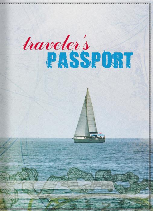 Обложка для паспорта КвикДекор Морские путешествия, цвет: голубой. DC-15-0038-1BM8434-58AEОригинальная, яркая и качественная обложка для паспорта КвикДекор Морские путешествия изготовлена из качественной экокожи. Подходит для всех видов паспортов, как общегражданских, так и заграничных. Изображение устойчиво к стиранию. Изделие раскладывается пополам.Яркий современный принт выполнен дизайнер Дарьей Шмаковой.