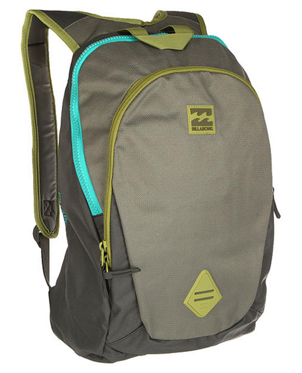 Рюкзак городской мужской Billabong Trace Pack, цвет: оливковый, 20 л. Z5BP024650065019965Минималистичный рюкзак с отделением под ноутбук и большим основным отделением.