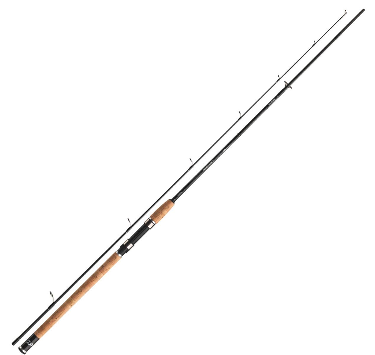 Спиннинг штекерный Daiwa Crossfire CF902MFS-AD 2,70м (15-40г)BP-001 BKСерия Crossfire убедительна во всех своих характеристиках. Широкая линейка продукции с различными тестами и длиной дает возможность выбрать спиннинг для любых техник ловли. Crossfire идеально сбалансирован и, благодаря своему жесткому строю (начиная от теста 40г), прекрасно подходит для ловли на мягкие приманки. Спиннинги с тестом менее 40г не такие жесткие, поэтому хорошо подходят для ловли на блесны и т.д. Бланки премиум качества из плетеного графитового волокна демонстрируют великолепное соотношение цены и качества. Проверьте сами! Оснащены кольцами из оксида титана, пробковой рукояткой, чувствительным бланком из графитового волокна. Поставляется в транспортировочном тубусе.