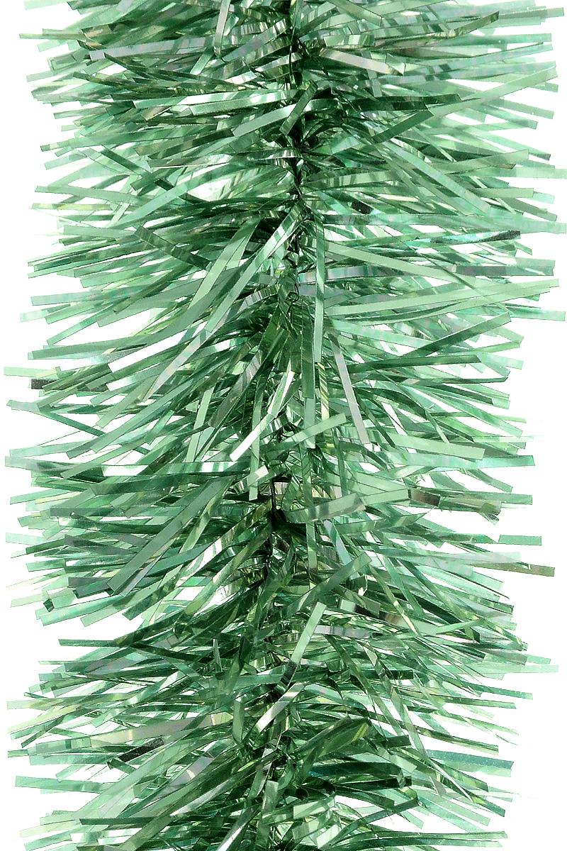 Мишура новогодняя House & Holder, цвет: зеленый, диаметр 4 см, длина 200 см531-401Мишура новогодняя House & Holder, выполненная из полиэстера, поможет вам украсить свой дом к предстоящим праздникам. Новогодняя елка с таким украшением станет еще наряднее. Новогодней мишурой можно украсить все, что угодно - елку, квартиру, дачу, офис - как внутри, так и снаружи. Можно сложить новогодние поздравления, буквы и цифры, мишурой можно украсить и дополнить гирлянды, можно выделить дверные колонны, оплести дверные проемы.