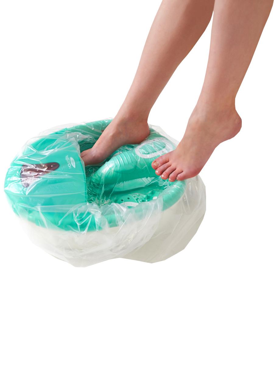Пакет для педикюрных ванн 50 х 70 см, 100шт./уп.5010777142037Одноразовые пакеты для ванн используются во время педикюра поверх многоразовой емкости и являются обязательным условием соблюдения действующих норм СанПина.Описание:Материал: полиэтиленРазмеры: 50 х 50+20 смЦвет: прозрачныйТип упаковки: 100 шт.