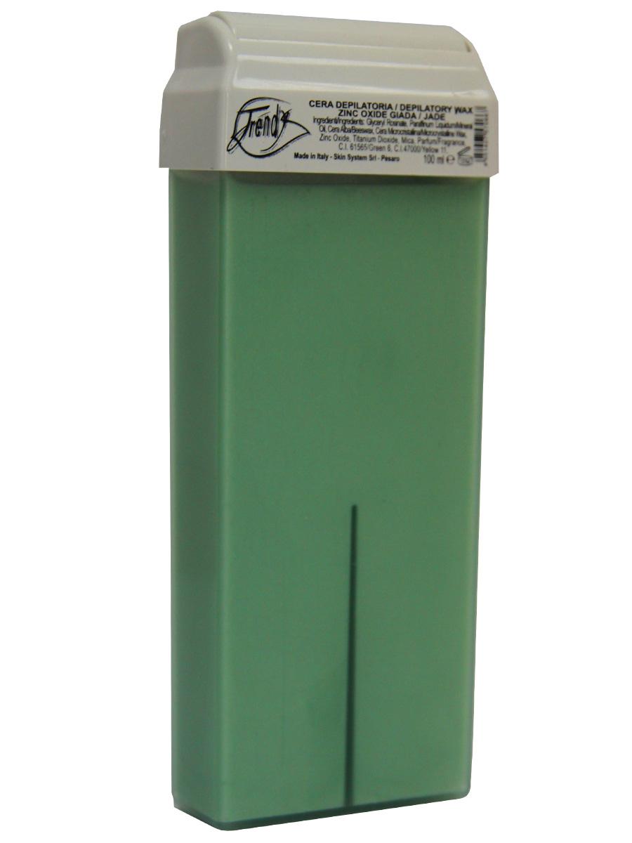 Trendy Воск для депиляции Нефрит (с оксидом цинка) в картридже, 100 мл