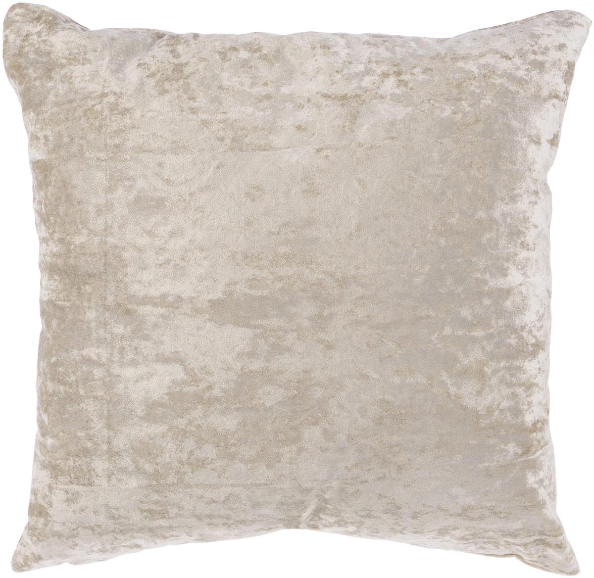 Подушка декоративная KauffOrt Бархат, цвет: серый, 40 x 40 см3121039660Декоративная подушка Бархат прекрасно дополнит интерьер спальни или гостиной. Бархатистый на ощупь чехол подушки выполнен из 49% вискозы, 42% хлопка и 9% полиэстера. Внутри находится мягкий наполнитель. Чехол легко снимается благодаря потайной молнии. Красивая подушка создаст атмосферу уюта и комфорта в спальне и станет прекрасным элементом декора.