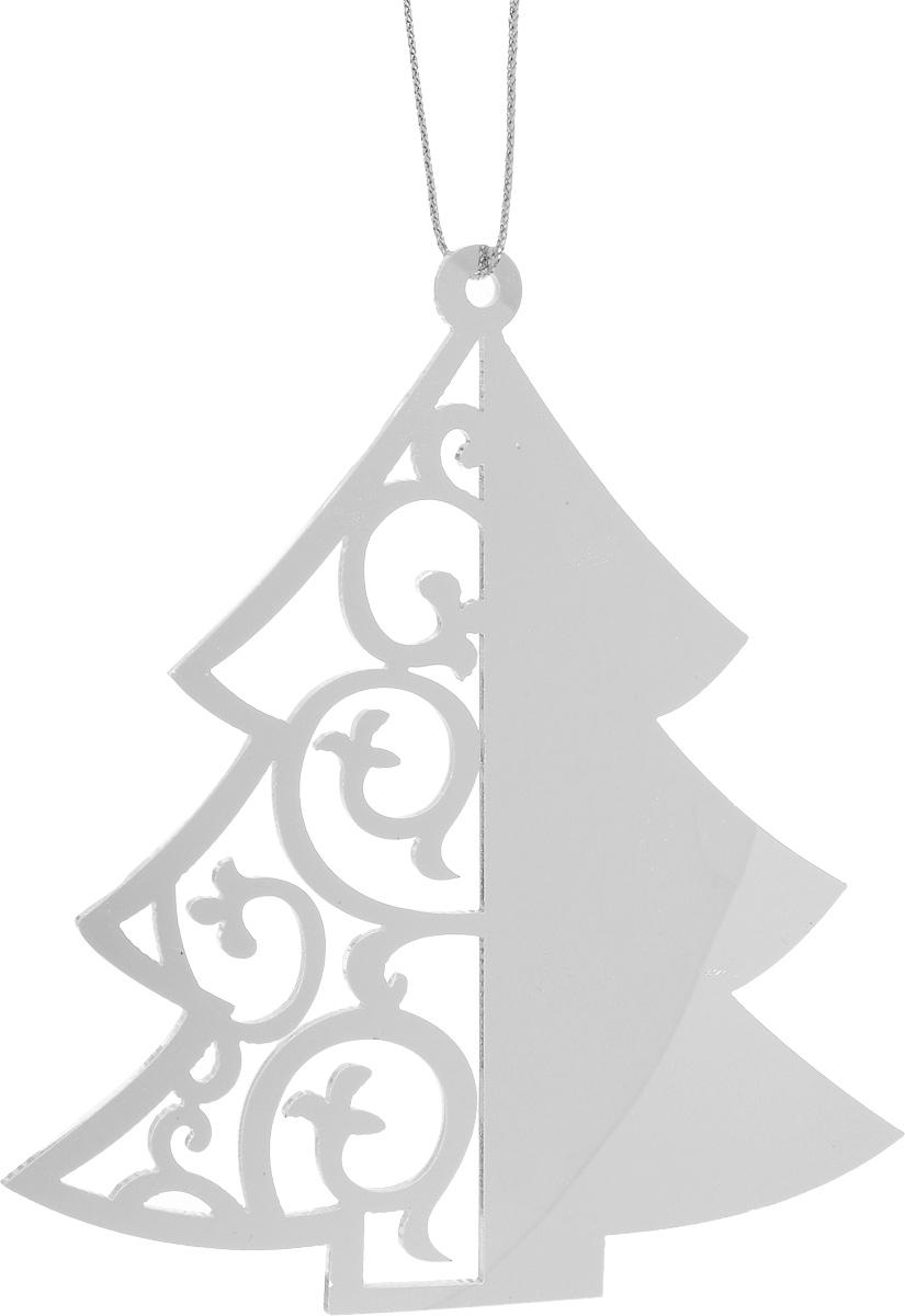 Украшение новогоднее подвесное House & Holder Елка, 9 х 9,8 см70299Новогоднее подвесное украшение House & Holder Елка выполнено из пластмассы. С помощью специальной петельки украшение можно повесить в любом понравившемся вам месте. Но, конечно, удачнее всего оно будет смотреться на праздничной елке. Елочная игрушка - символ Нового года. Она несет в себе волшебство и красоту праздника. Создайте в своем доме атмосферу веселья и радости, украшая новогоднюю елку нарядными игрушками, которые будут из года в год накапливать теплоту воспоминаний. Размер: 9 х 9,8 см.