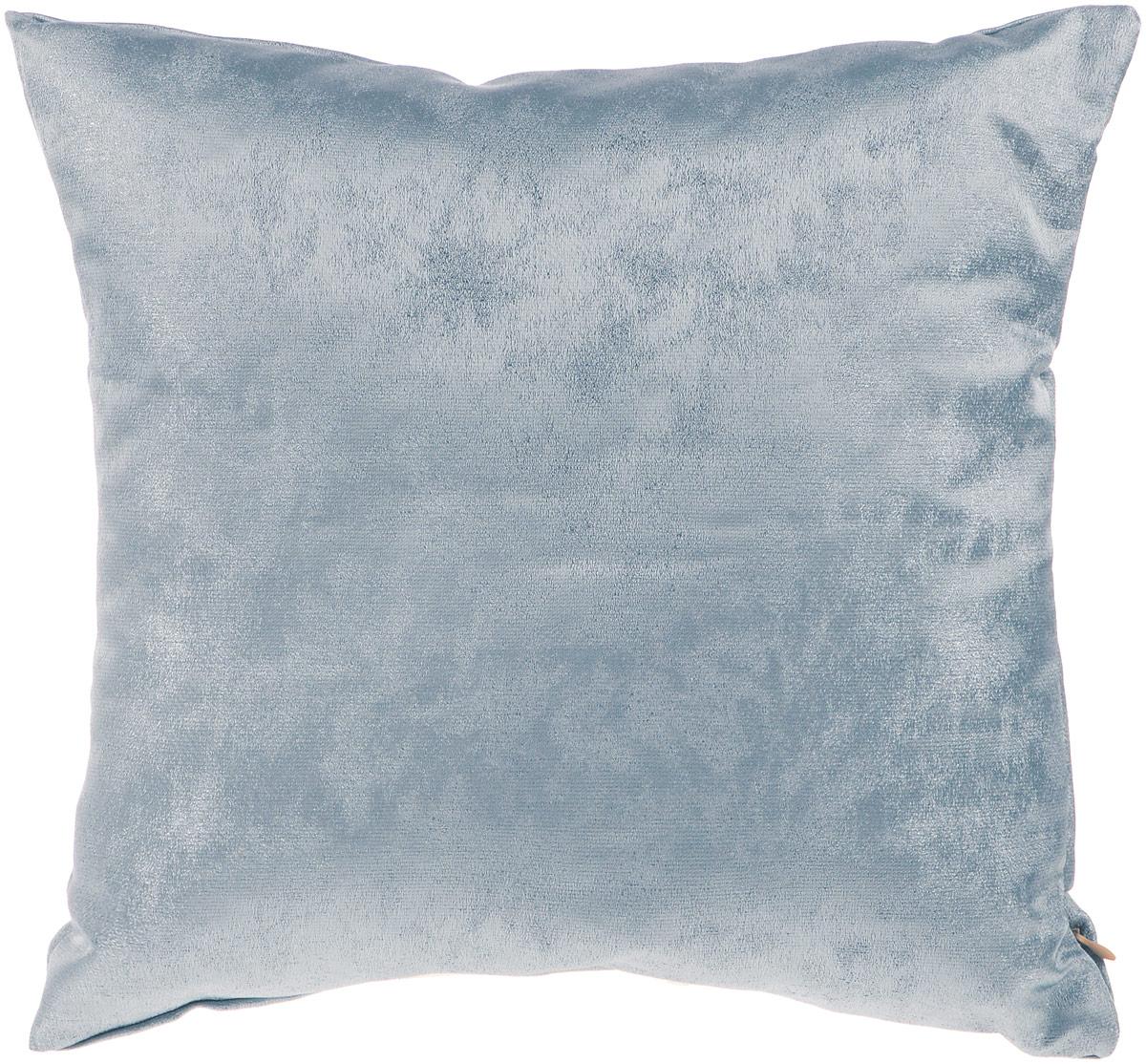 Подушка декоративная KauffOrt Магия, цвет: серо-синий, 40 x 40 см3121909645Декоративная подушка Магия прекрасно дополнит интерьер спальни или гостиной. Приятный на ощупь чехол подушки выполнен из полиэстера. Внутри находится мягкий наполнитель. Чехол легко снимается благодаря потайной молнии в тон ткани. Красивая подушка создаст атмосферу уюта и комфорта в спальне и станет прекрасным элементом декора.