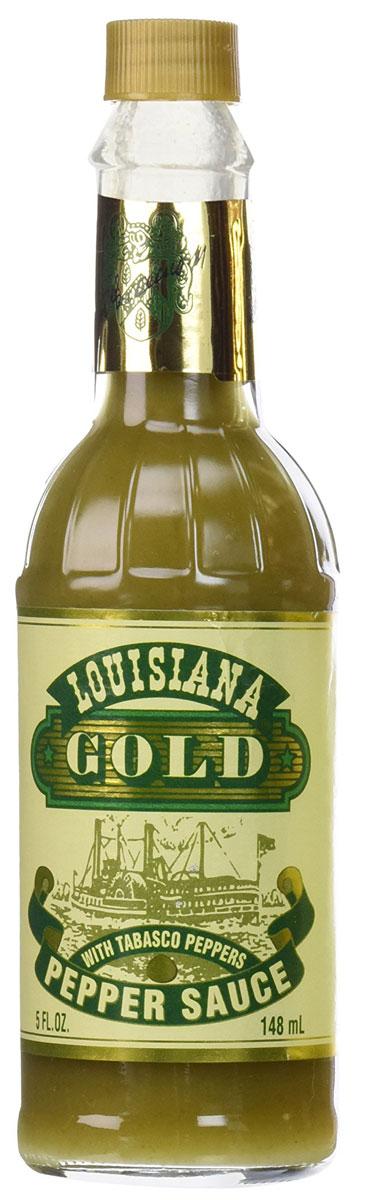 Louisiana Gold соус зеленый перечный, 148 мл0120710Louisiana Gold - острый зеленый перечный соус, лучшая приправа к блюдам из мяса, птицы, морепродуктов. Может использоваться как ингредиент для приготовления, маринад.