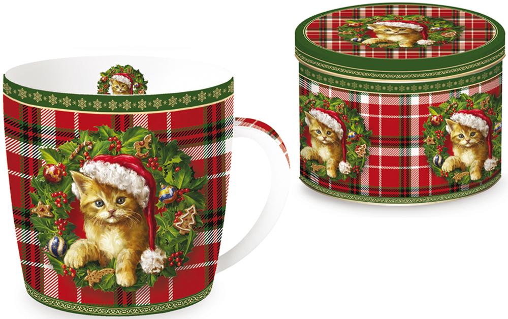 Кружка Nuova R2S Рождественский котенок, 350 млR2S-R0217/XMSK-ALКружка Nuova R2S Рождественский котенок, изготовленная из высококачественного фарфора, оформлена ярким рисунком. Красочность оформления придется по вкусу и ценителям классики, и тем, кто предпочитает утонченность и изысканность. Такая кружка - отличный вариант новогоднего подарка для ваших близких и друзей.