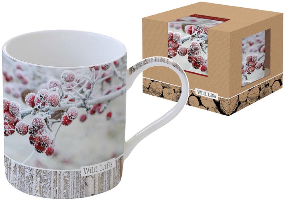 Кружка Nuova R2S Красные ягоды, 400 млR2S-R0282/WLRB-ALКружка Nuova R2S Красные ягоды изготовлена из высококачественного фарфора с глазурованным покрытием и оформлена красочным рисунком. Изделие легкое, белоснежное, прочное и устойчивое к высоким температурам. Такая кружка станет отличным приобретением для кухни. Благодаря красочному дизайну это идеальный подарок друзьям и близким. Можно использовать в СВЧ и посудомоечной машине.
