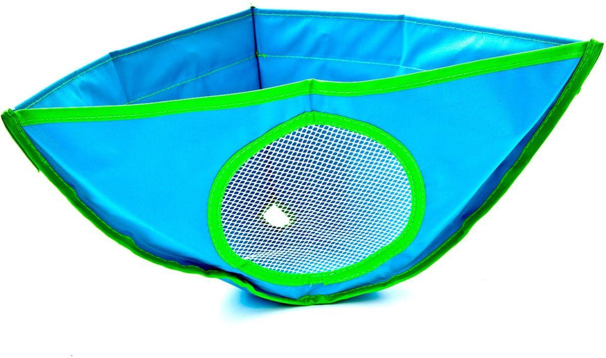 Bradex Сетка для ванной для хранения игрушек391602Яркая раскладная сетка для ванной изготовлена из экологичного водонепроницаемого текстиля и абсолютно безопасна. Идеально подходит для хранения детских игрушек, легко прикрепляется к стенке с помощью присосок, имеет отверстие для стекания воды.