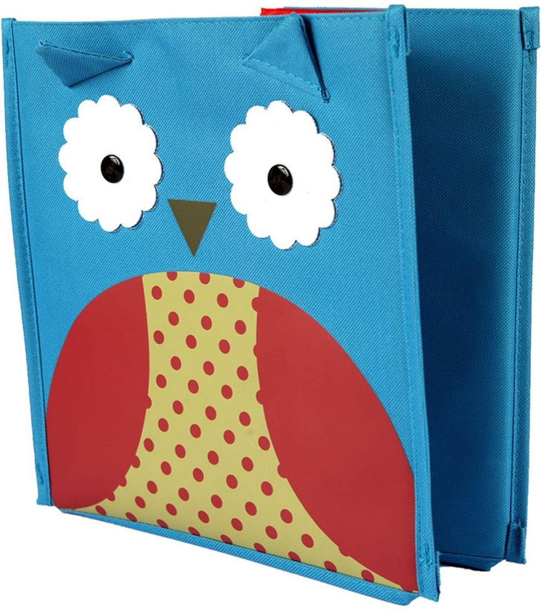 Bradex Короб для хранения Сова квадратнаяDE 0231Яркая коробка с привлекательным дизайном предназначена для оптимизации хранения небольших детских вещей: игрушек, канцтоваров, одежды и обуви. Коробка освободит место в квартире и украсит любую детскую. На выбор представлены 2 варианта дизайна: с пчелкой и совой.
