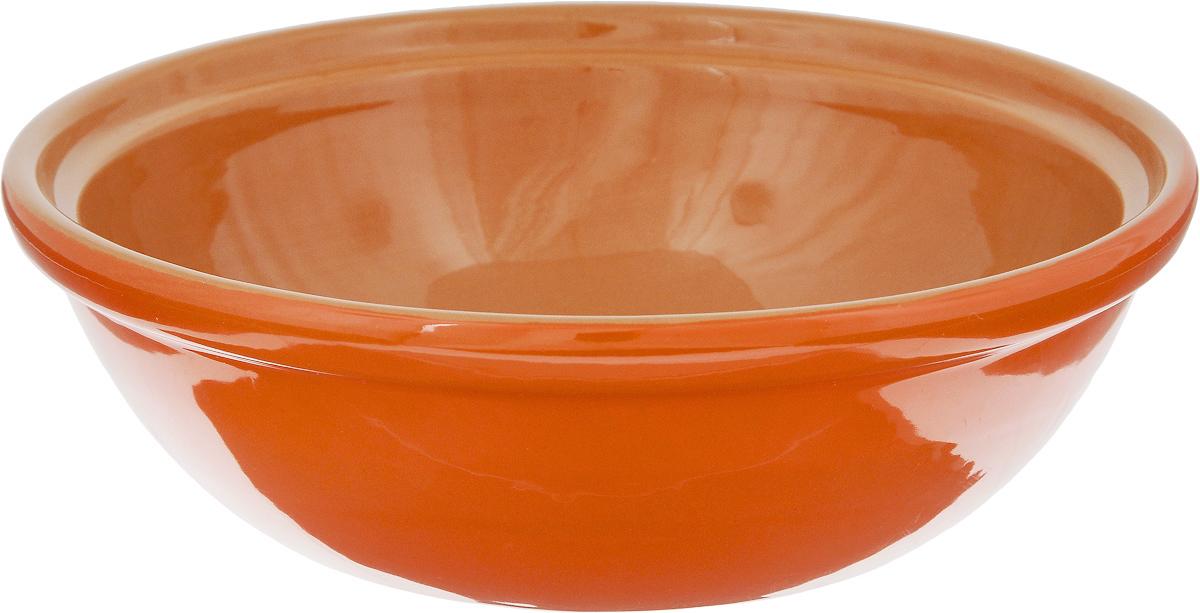 Салатник Борисовская керамика Модерн, цвет: кирпичный, оранжевый, 500 мл115510Салатник Борисовская керамика Модерн выполнен из высококачественной керамики. Он придется по вкусу каждому и порадует вас и ваших близких. Салатник Борисовская керамика Модерн идеально подойдет для сервировкистола и станет отличным подарком к любому празднику.Можно использовать в духовке и микроволновой печи. Диаметр (по верхнему краю): 17,5 см.Высота: 5,5 см.Объем: 500 мл.