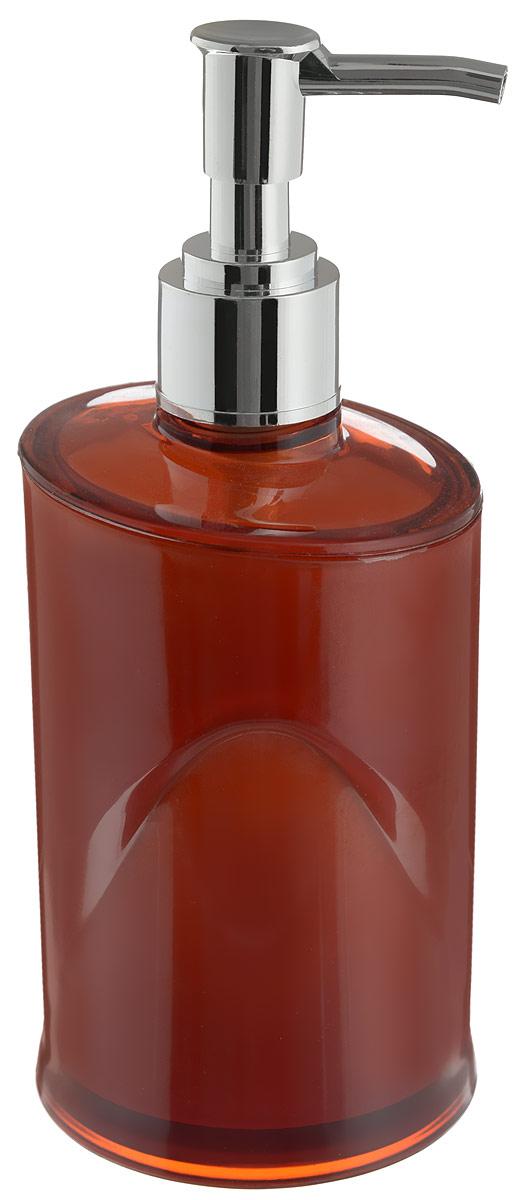 Дозатор для жидкого мыла Indecor, цвет: коричневый, серый, 300 млUP210DFДозатор для жидкого мыла Indecor, изготовленный из пластика, отлично подойдет для вашей ванной комнаты. Такой аксессуар очень удобен в использовании, достаточно лишь перелить жидкое мыло в дозатор, а когда необходимо использование мыла, легким нажатием выдавить нужное количество. Дозатор для жидкого мыла Indecor создаст особую атмосферу уюта и максимального комфорта в ванной.Размер дозатора: 7 х 7 х 16,5 см.Объем дозатора: 300 мл.