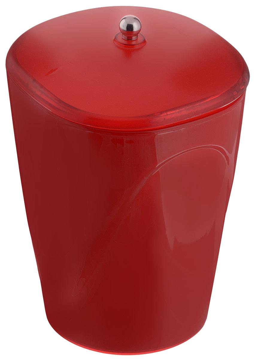 Ведро для мусора Indecor, с крышкой, цвет: красный, 5 лIND032rГлянцевое ведро для мусора Indecor, выполненное из высококачественного износостойкого пластика, оснащено крышкой. Ведро подходит для использования в ванной комнате или на кухне. Стильный дизайн и яркая расцветка прекрасно подойдет для любого интерьера ванной комнаты или кухни. Размер ведра: 20 х 20 х 26,5 см. Объем ведра: 5 л.
