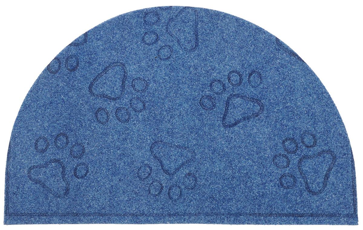 Коврик придверный EFCO Оскар. Лапы, цвет: синий, 65 х 40 смUP210DFОригинальный придверный коврик EFCO Оскар. Лапы надежно защитит помещение от уличной пыли и грязи. Изделие выполнено из 100% полипропилена, основа - латекс. Такой коврик сохранит привлекательный внешний вид на долгое время, а благодаря латексной основе, он легко чистится и моется.