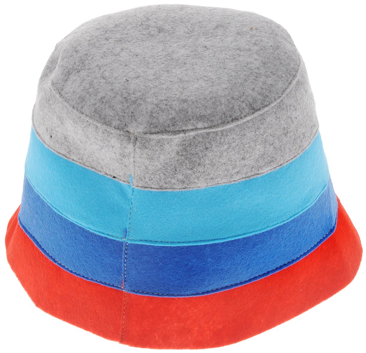 Шапка для бани и сауны Доктор баня В полоску, цвет: красный, синий, серый905254_красный, синий, голубой, серыйШапка для бани и сауны Доктор баня В полоску, выполненная из 100% полиэстера, является оригинальным и незаменимым аксессуаром для любителей попариться в русской бане и для тех, кто предпочитает сухой жар финской бани. Необычный дизайн изделия поможет сделать ваш отдых более приятным и разнообразным. При правильном уходе шапка прослужит долгое время. Обхват головы: 60 см.