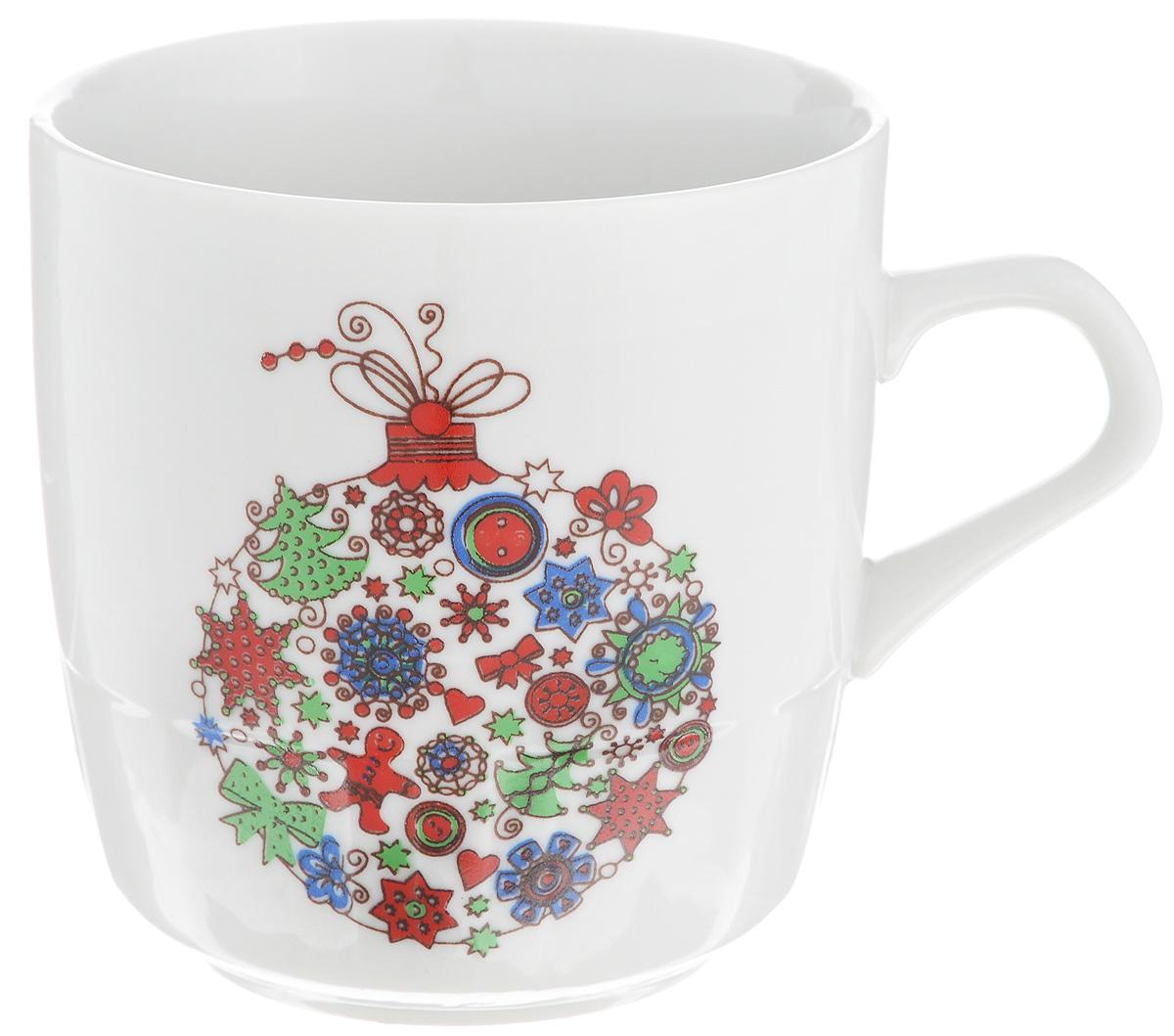 Кружка Фарфор Вербилок Разноцветные шары, 250 мл5813140Кружка Фарфор Вербилок Разноцветные шары способна скрасить любое чаепитие. Изделие выполнено из высококачественного фарфора. Посуда из такого материала позволяет сохранить истинный вкус напитка, а также помогает ему дольше оставаться теплым. Диаметр по верхнему краю: 8 см. Высота кружки: 8,5 см.
