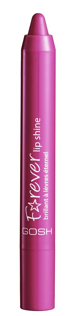 Gosh, Помада-карандаш Forever Lip Shine, 1,5 г, 003002722Помада- стик идеально подходит для прорисовки контура и окрашивания губ. Мягкая и гладкая текстура позволяет легко нанести помаду в несколько штрихов. Благодаря ухаживающим компонентам в составе губы будут мягкими и увлажненными, а специальная формула обеспечит непревзойденную стойкость цвета и сияющий сатиновый финиш на протяжении всего дня. Представлена в 10 оттенках: от натуральных до ярких и интенсивных.Интенсивность цветаСияющий сатиновый финишНепревзойденная стойкостьПростота в нанесенииСтильный дизайнНе содержит парабенов