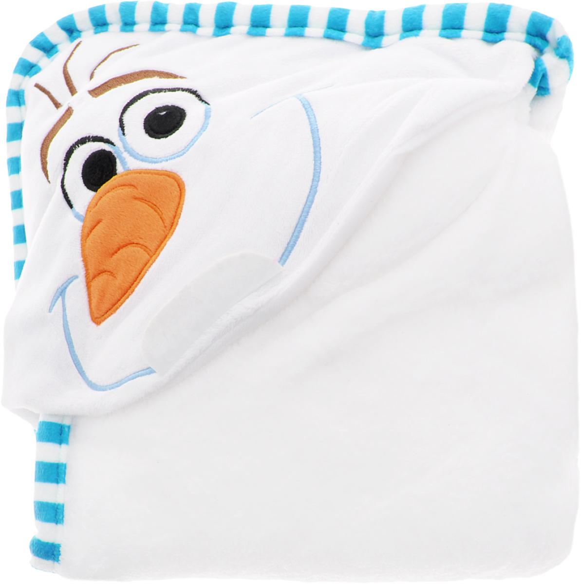 Disney Плед детский с капюшоном Olaf15642Детский плед с капюшоном Disney Olaf - удивительная и многофункциональная вещь, от приобретения которой выиграют все. Родители - потому что получают для своих любимых чад тёплое и мягкое покрывальце. Дети - потому что мягкий плед может использоваться как накидка или пончо, а это отличная возможность преобразиться из мальчика или девочки в любимого героя. Данная текстильная продукция занимает высокие позиции на потребительском рынке благодаря своему оригинальному дизайну и безопасным материалам.