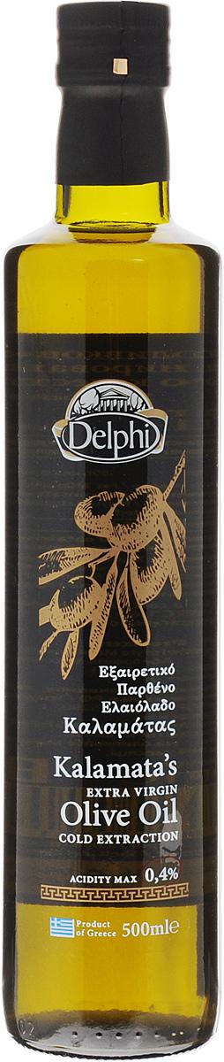 Delphi масло оливковое Extra Virgin, 500 мл0120710Оливковое масло Delphi Extra Virgin производится путем холодного отжима, то есть механической обработки мякоти оливок при помощи пресса.Оливковое масло широко применяется в кулинарии в натуральном виде, в качестве заправки, а также для лечения сердечно-сосудистых и желудочно-кишечных заболеваний, так как содержит большое количество витаминов В, С, Е, провитамин А и минеральные вещества.