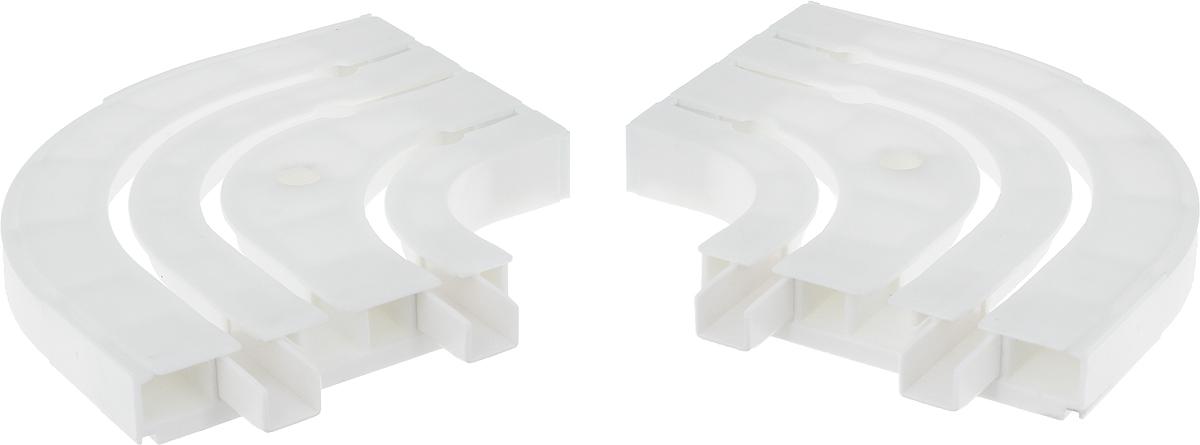 Оконцовка для потолочной шины Эскар, трехрядная, 2 штES-412Оконцовки Эскар являются дополнительными элементами карниза, которые служат для создания поворота на концах потолочного профиля. Изделия обеспечивают удобство в использовании всей конструкции карниза. Они изготавливаются из высокопрочного и экологически безопасного пластика. Качественное сырье гарантирует прочность профиля и неизменный цвет на протяжении многих лет. Оконцовки имеют три ряда и предназначены для потолочного шинного карниза. Комплектация: 2 шт. Высота оконцовки: 1,7 см.Ширина оконцовки: 8,8 см.