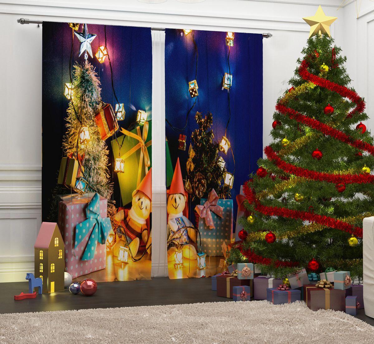Фотошторы Сирень Новогодние мишки, на ленте, высота 260 см07288-ФШ-ГБ-001Перед новогодними праздниками каждая хозяйка или хозяин хотят украсить свой дом. Мы предлагаем оригинальное решение, украсить Ваше окно фотошторами с новогодней тематикой. Новогодние фотошторы Сирень станут отличным подарком на Новый год. Подарите радость праздника себе и Вашим близким людям! Текстиль бренда «Сирень» - качество в каждом сантиметре ткани! Крепление на карниз при помощи шторной ленты на крючки. В комплекте: Портьера: 2 шт. Размер (ШхВ): 145 см х 260 см. Рекомендации по уходу: стирка при 30 градусах гладить при температуре до 150 градусов Изображение на мониторе может немного отличаться от реального.