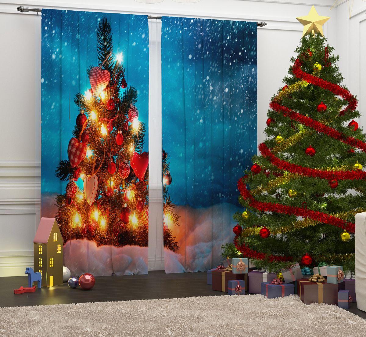 Фотошторы Сирень Рождественские огни, на ленте, высота 260 см10503Перед новогодними праздниками каждая хозяйка или хозяин хотят украсить свой дом. Мы предлагаем оригинальное решение, украсить Ваше окно фотошторами с новогодней тематикой. Новогодние фотошторы Сирень станут отличным подарком на Новый год. Подарите радость праздника себе и Вашим близким людям!Текстиль бренда «Сирень» - качество в каждом сантиметре ткани!Крепление на карниз при помощи шторной ленты на крючки.В комплекте: Портьера: 2 шт. Размер (ШхВ): 145 см х 260 см. Рекомендации по уходу: стирка при 30 градусах гладить при температуре до 150 градусов Изображение на мониторе может немного отличаться от реального.