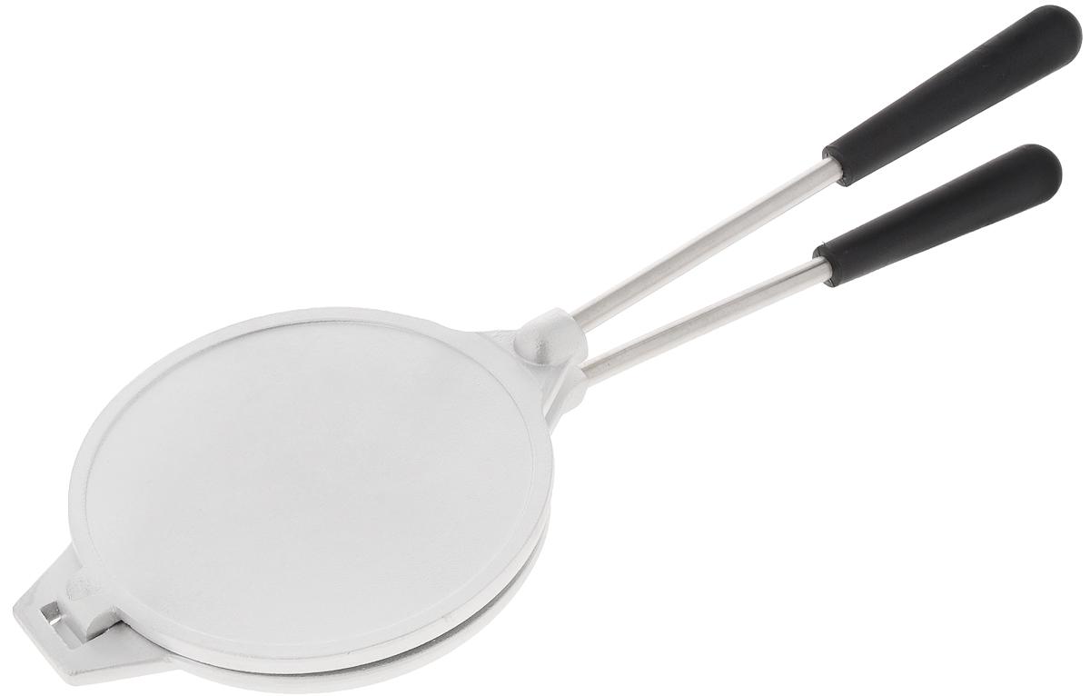 Форма для выпечки печенья Kukmara Орешница. Диаметр 14ф03Сковорода Kukmara Орешница выполнена из высококачественного литого алюминия и предназначена для приготовления печенья. Внутри имеются выемки в виде орешков. Сковорода состоит из двух разъемных частей с длинными ручками. Каждый из нас помнит и знает вкус печенья, наполненного сгущенным молоком и орешками. Благодаря сковороде Kukmara Орешница вы сможете порадовать свою семью и гостей вкусным печеньем. Форма проста и удобна в обращении и предназначена для выпечки в домашних условиях на любом нагревательном приборе. С такой сковородой вы получите вкусное домашнее печенье, потратив минимум усилий! Диаметр (по верхнему краю): 14 см. Высота стенки: 3 см. Длина ручки: 20 см. Количество форм: 8 шт.