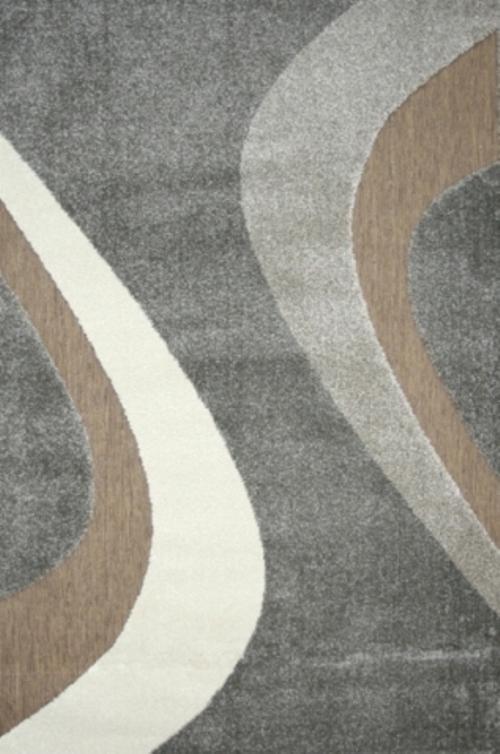 Ковер Oriental Weavers Леа, цвет: коричневый, 80 х 140 см. 14912УКД-2012Двухуровневая современная технология cut&loop делает объемными дизайны ковров этой коллекции, что позволяет использовать их в самых современных интерьерах.