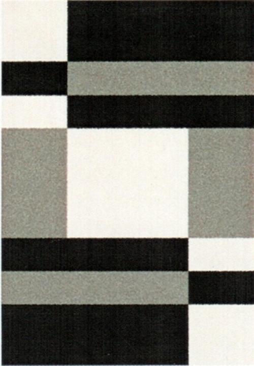Ковер Oriental Weavers Транс, цвет: черный, серый, 80 х 140 см. 16743УКД-2034Модерновые дизайны и относительно невысокая стоимость дают возможность предложить эту коллекция для молодых покупателей.