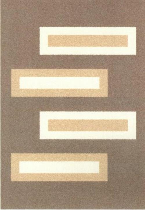Ковер Oriental Weavers Варшава, цвет: светло-коричневый, 100 х 150 см. 1722017220Ковры из высококачественного полипропилена с технологией ручной рельефной стрижки выдержаны в классических бело-коричневых тонах. Подойдут для спальни, детской и гостиной.