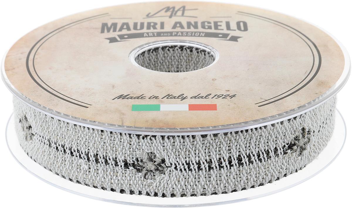 Лента кружевная Mauri Angelo, цвет: серый, белый, 2,8 см х 10 мMR2626/PPT/NA4_серый, белыйДекоративная кружевная лента Mauri Angelo - текстильное изделие без тканой основы, в котором ажурный орнамент и изображения образуются в результате переплетения нитей. Кружево применяется для отделки одежды, белья в виде окаймления или вставок, а также в оформлении интерьера, декоративных панно, скатертей, тюлей, покрывал. Главные особенности кружева - воздушность, тонкость, эластичность, узорность. Декоративная кружевная лента Mauri Angelo станет незаменимым элементом в создании рукотворного шедевра. Ширина: 2,8 см. Длина: 10 м.