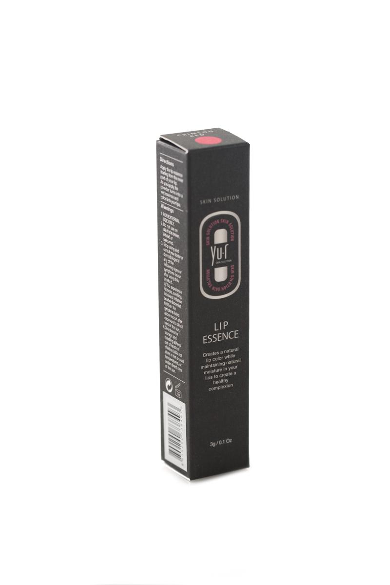 Помада-эссенция для губ с тоном Yu-r Lip Essence (красный), 3 г1301207Помада-эссенция используется для придания цвета губам, поддержания естественного уровня влаги и комплексного оздоровления