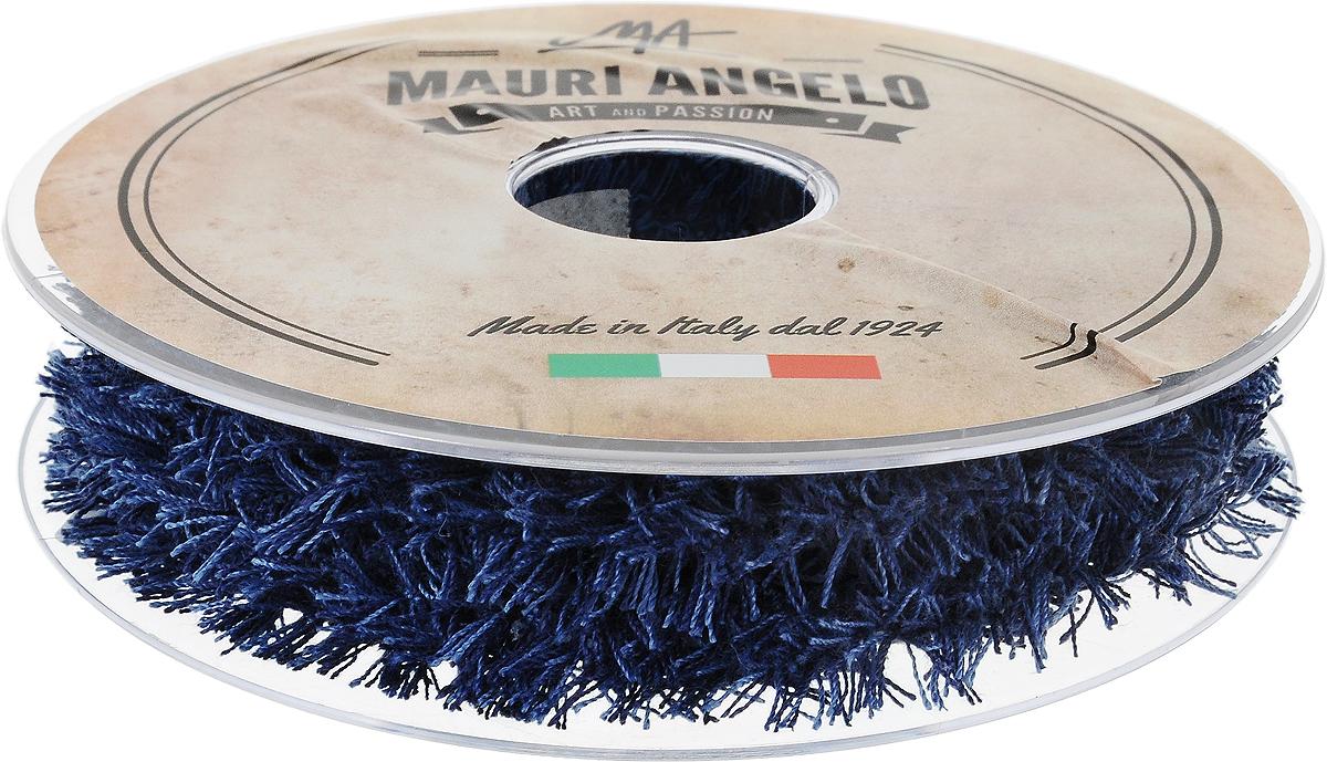Лента декоративная Mauri Angelo, цвет: синий, голубой, 1,7 см х 10 мMR8944EL/PL/9_синий, голубойДекоративная кружевная лента Mauri Angelo - текстильное изделие, которое тянется и применяется для отделки одежды, а также в оформлении интерьера, декоративных панно, скатертей, тюлей, покрывал. Декоративная кружевная лента Mauri Angelo станет незаменимым элементом в создании рукотворного шедевра. Ширина: 1,7 см. Длина: 10 м.