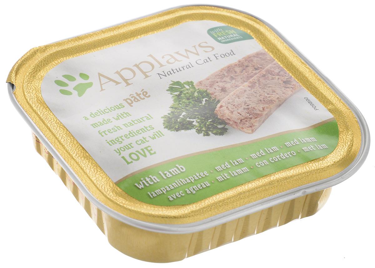 Консервы для кошек Applaws, паштет, с ягненком, 100 г0120710Консервы для кошек Applaws – это полнорационная порция мясного и рыбного мусса с добавлением всех необходимых для кошки витаминов и минералов.Состав: курица 35%, свинина 23%, ягненок 4%, индейка 4%, лосось 4%, форель 4%.Пищевые добавки: витамин Е 30 МЕ/кг, сульфат меди 1мг/кг, сульфат цинка 20 мг/кг. Гарантированный анализ: белки 10%, жиры 5,5%, клетчатка 0,2%, зола 2,3%, влага 82%.Товар сертифицирован.
