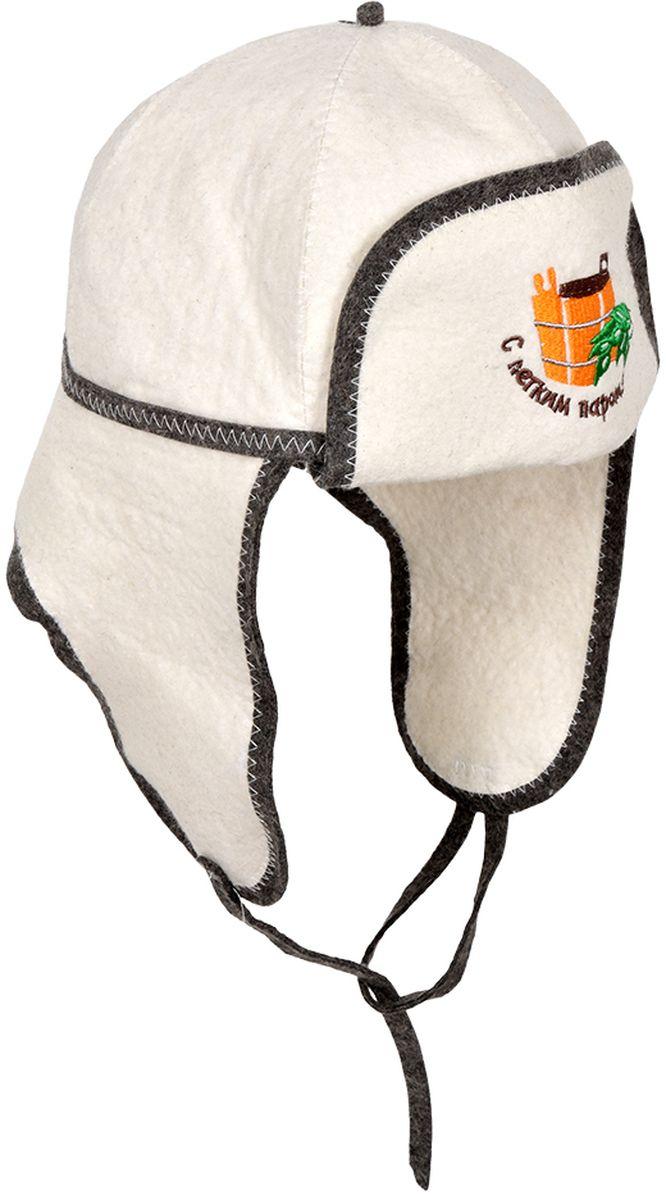 Шапка для бани и сауны Банные штучки Ушанка41080войлок 100%