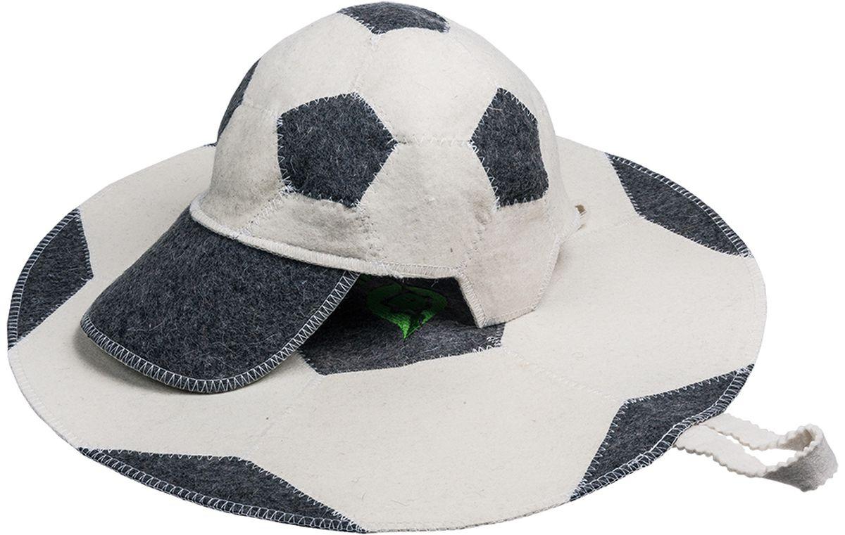 Набор для бани и сауны Банные штучки Футбольный мяч, 2 предмета41126войлок 100%