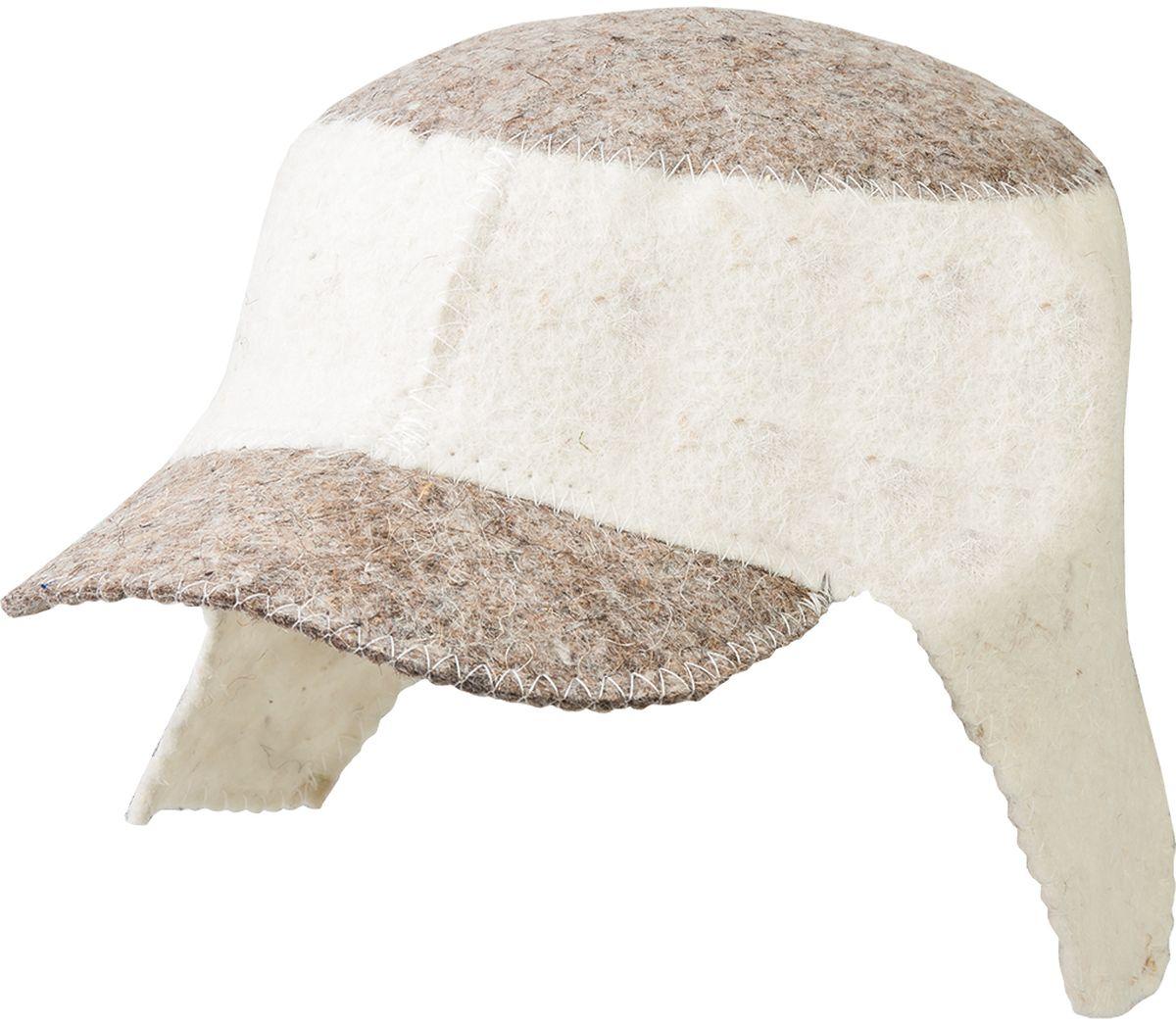 Шапка для бани и сауны Hot Pot Кепка Комби41186войлок 100%