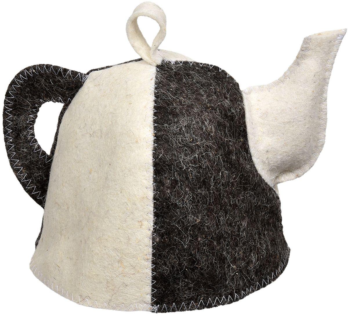 Шапка для бани и сауны Hot Pot Чайник Комби41207войлок 100%