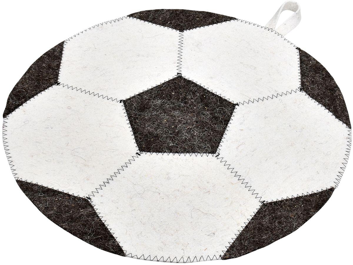 Коврик для бани и сауны Нot Pot Футбольный мяч41211войлок 100%